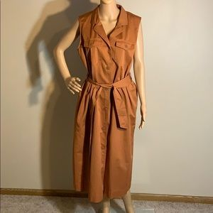 Trench Dress size large